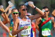 Chodecká päťdesiatka na OH v Rio 2016.