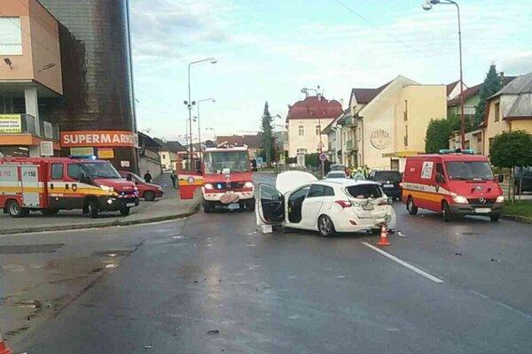 Dopravná nehoda v Nitrianskom Pravne