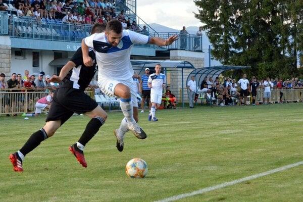 Martinčania zdolali Oravské Veselé 1:0. Prispel k tomu aj Tibor Ďungel.