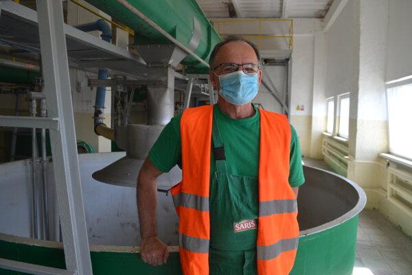 Stanislav Župa pracuje v pivovare už 40 rokov.
