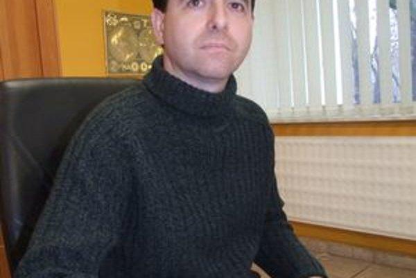 Marián Lukáčik, predseda predstavenstva HC Nitra.