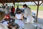 VakciZuzka v obci Maršová - Rašov