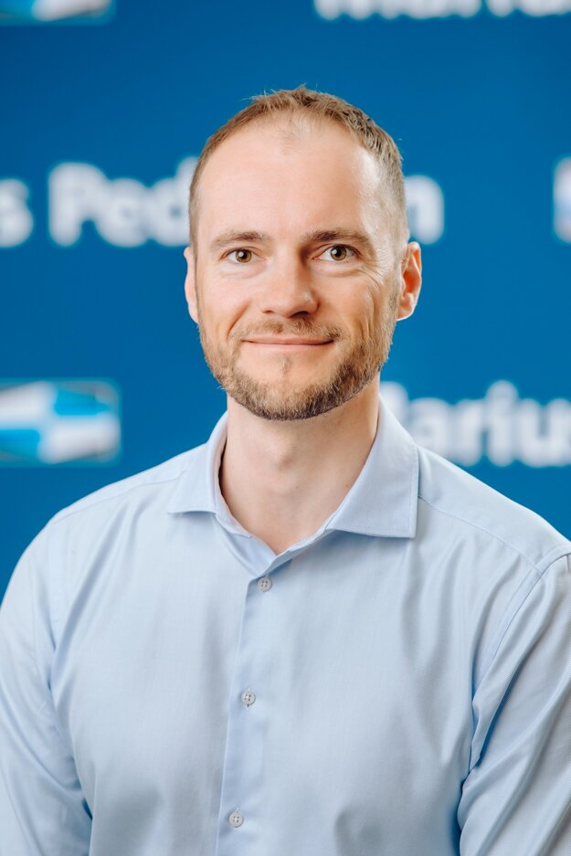 Ing. Oliver Šujan, generálny riaditeľ spoločnosti Marius Pedersen.