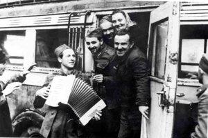 Členovia Frontového divadla.
