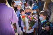 Prvý deň v škole v prvý rok pandémie.