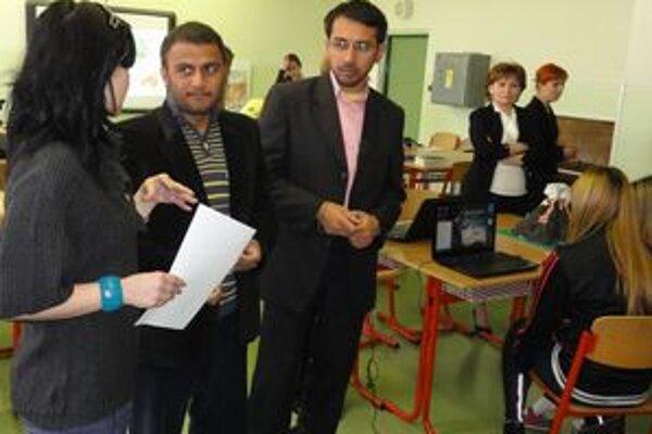 Sharifullah a Abdul, dvaja Afganci, ktorí prišli zažiť slovenské školstvo.