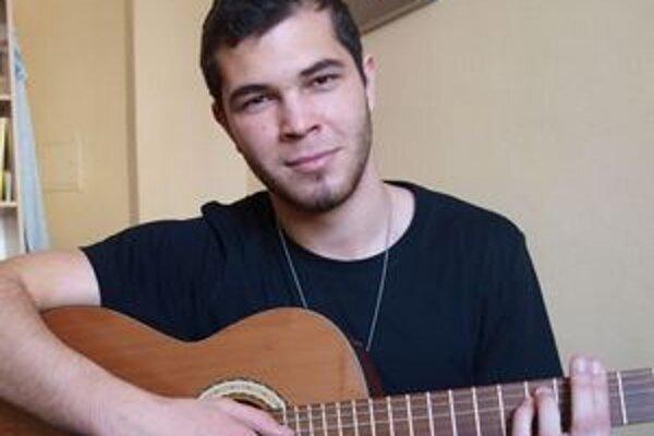Marcel Dragúň spieva už od 12 rokov.