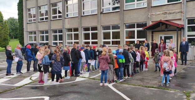Otvorenie školského roka v ZŠ Milošová