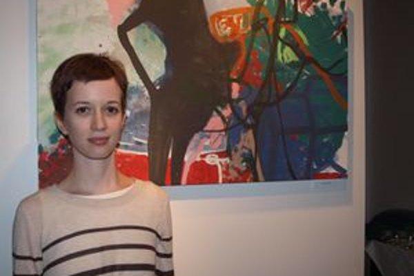 Ildikó Botková vystavuje v Nitre po prvýkrát.