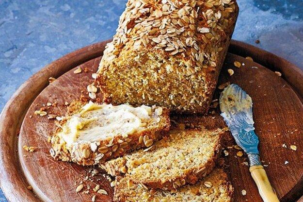 Mrkvový chlieb s ovsenými vločkami