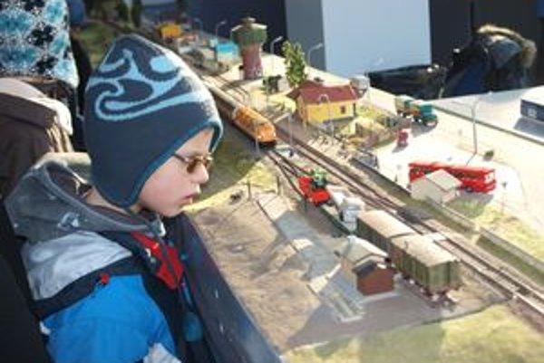 Výstava vláčikov bola pastvou pre oči pre deti aj dospelých.