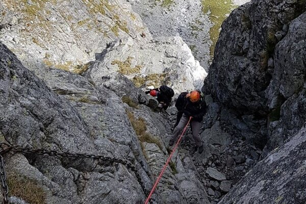 Nové horolezecké cesty zaujmú najmä náročných horolezcov.