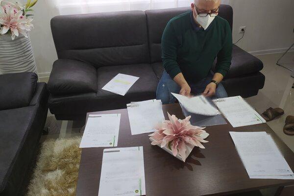 Vladimír Debnár má všetku komunikáciu s úradmi zadokumentovanú.