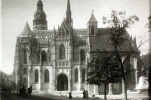 Košice v roku 1910.