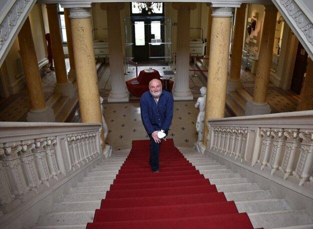Róbert Pollák je najdlhšie slúžiacim riaditeľom Východoslovenského múzea.