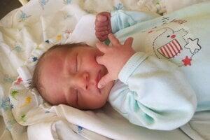 Nathan Belavý (3340 g, 52 cm) sa narodil 27. augusta Miroslavovi a Zuzane z Udiče.
