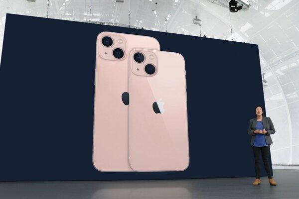 iPhone 13 a iPhone 13 mini.