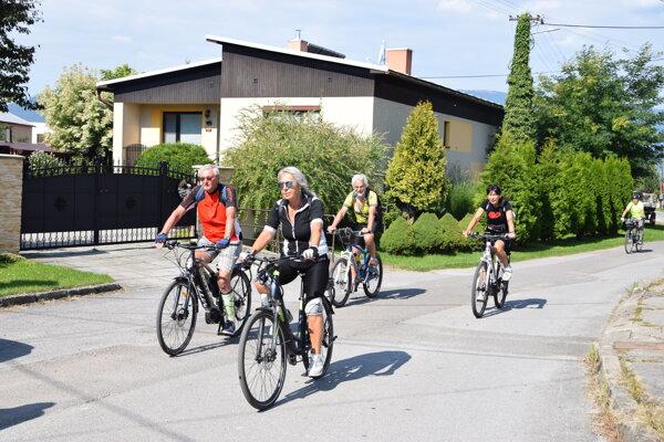 Martinský bicyklový deň našiel základňu v Žabokrekoch.