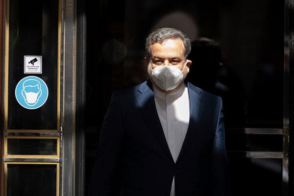 Námestník iránskeho ministra zahraničných vecí Abbás Arakčí.