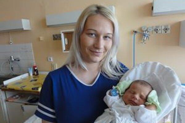 Lukáško s mamičkou Silviou.