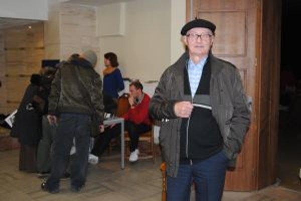 Eduard Grečner na festivale slovenského filmu združenia Artéria.