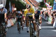 Peter Sagan získal žltý dres pre celkového víťaza pretekov Okolo Slovenska 2021.