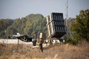 Izraelský protiraketový systém Železná kupola.