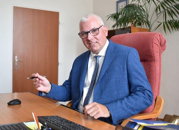Generálny riaditeľ dopravného podniku Vladimír Padyšák.