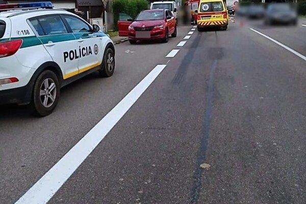 Nehoda v Povine.