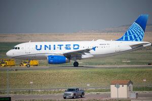 Lietadlo spoločnosti United Airlines.