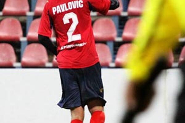 Víťazný gól Zlatých Moraviec strelil z penalty Milan Pavlovič.