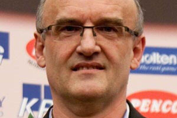 Tréner basketbalistov BK SPU Nitra Ľubomír Urban.