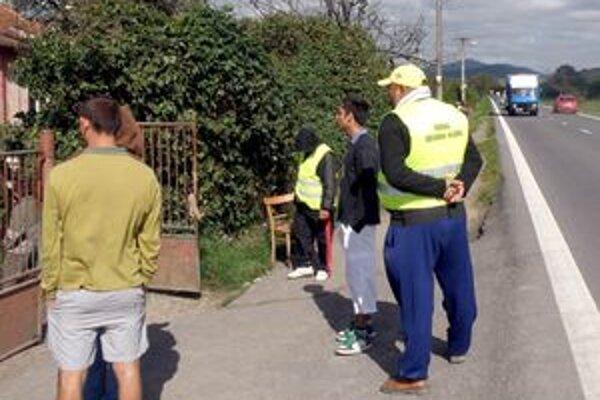 Do konca novembra na poriadok dohliadajú dvaja členovia Rómskej občianskej hliadky.