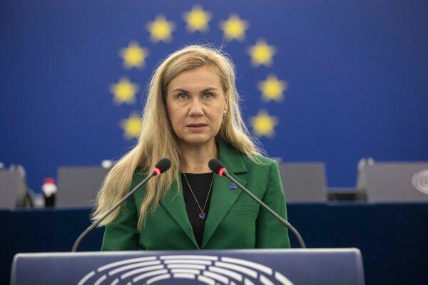 Eurokomisárka pre energetiku Kadri Simsonová.