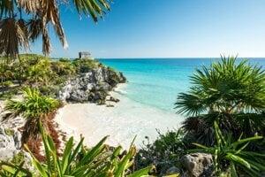 Pláž Tulum