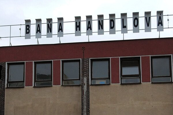Baňa v Handlovej.