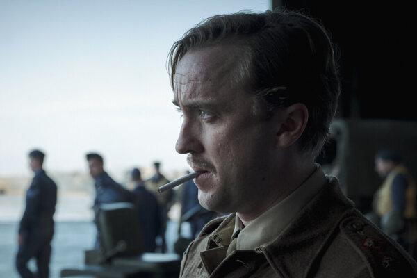 Tom Felton vo filme The Forgotten Battle