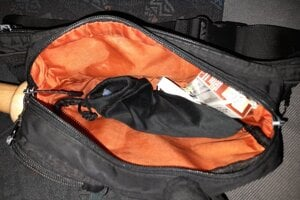 V tejto batožine boli nájdené drogy.