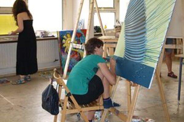 Na 2. ročníku Multipointu v Nitre maľovalo 14 umelcov z 8 krajín.