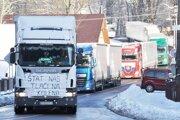 Kamionisti chcú opäť jazdiť skratkou cez Kysuce