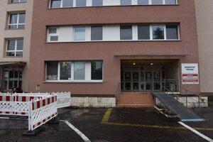 Nemocnica v Humennom.