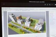 Vizualizácie prvotného návrhu na zmenu lokality Fándlyho.