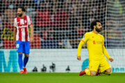 Momentka zo zápasu Atlético Madrid - Liverpool FC.