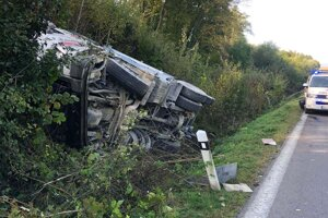 Nehoda v obci Brezolupy