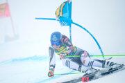 Petra Vlhová dnes ide 1. kolo obrovský slalom v Sölden 2021.