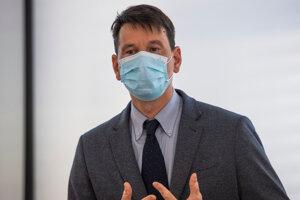 riaditeľ sekcie súdneho lekárstva a patologickej anatómie Úradu pre dohľad nad zdravotnou starostlivosťou (ÚDZS) Michal Palkovič.