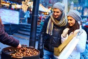 Pečené gaštany sú chutným a zdravým spestrením stravy.
