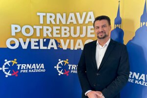 Podnikateľ Branislav Baroš.