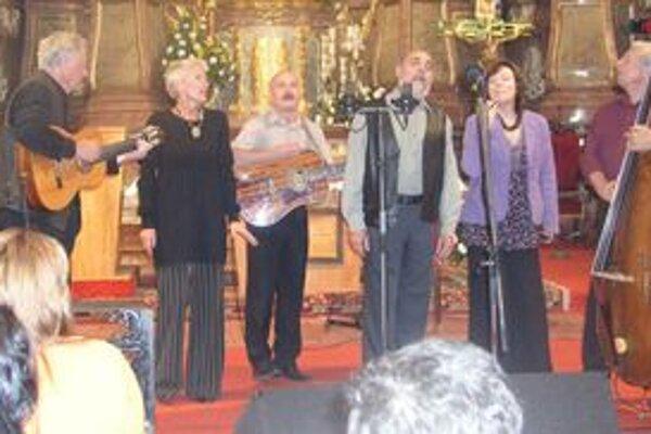 Na vlaňajšej Musice Sacre mal veľký úspech koncert českého telesa Spirituál Kvintet.