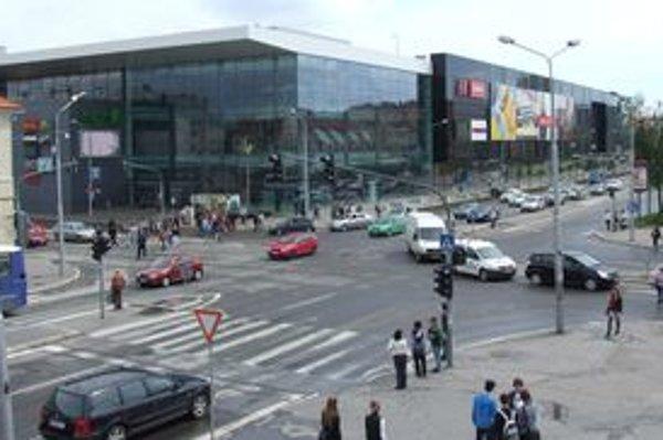 Zábavno-obchodné centrum Mlyny v Nitre.
